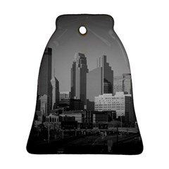 Minneapolis Minnesota Skyline Bell Ornament (two Sides)