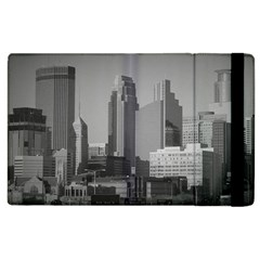 Minneapolis Minnesota Skyline Apple Ipad 3/4 Flip Case