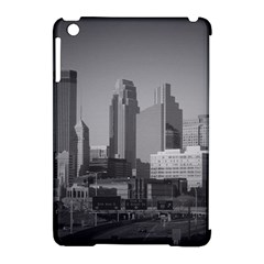 Minneapolis Minnesota Skyline Apple Ipad Mini Hardshell Case (compatible With Smart Cover)