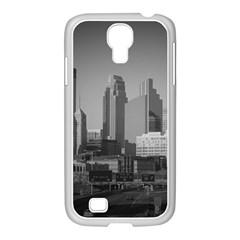 Minneapolis Minnesota Skyline Samsung Galaxy S4 I9500/ I9505 Case (white) by BangZart