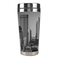 Minneapolis Minnesota Skyline Stainless Steel Travel Tumblers by BangZart