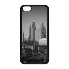 Minneapolis Minnesota Skyline Apple Iphone 5c Seamless Case (black) by BangZart