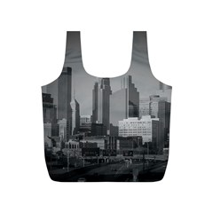 Minneapolis Minnesota Skyline Full Print Recycle Bags (s)  by BangZart