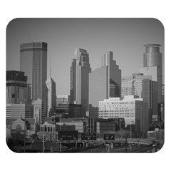Minneapolis Minnesota Skyline Double Sided Flano Blanket (small)