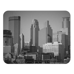 Minneapolis Minnesota Skyline Double Sided Flano Blanket (large)  by BangZart