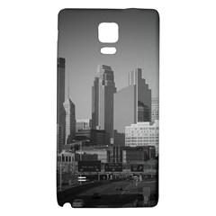 Minneapolis Minnesota Skyline Galaxy Note 4 Back Case