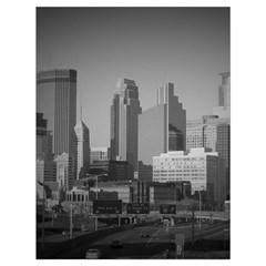 Minneapolis Minnesota Skyline Drawstring Bag (large)