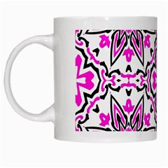 Oriental Pattern White Mugs by BangZart