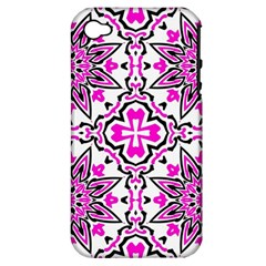 Oriental Pattern Apple Iphone 4/4s Hardshell Case (pc+silicone) by BangZart