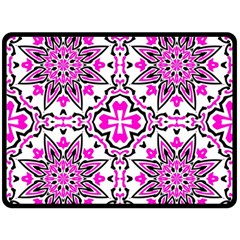 Oriental Pattern Double Sided Fleece Blanket (large)  by BangZart