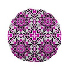 Oriental Pattern Standard 15  Premium Flano Round Cushions by BangZart