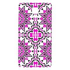 Oriental Pattern Galaxy Note 4 Back Case