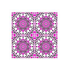 Oriental Pattern Satin Bandana Scarf