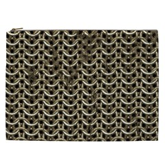Sparkling Metal Chains 01a Cosmetic Bag (xxl)  by MoreColorsinLife