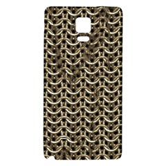 Sparkling Metal Chains 01a Galaxy Note 4 Back Case by MoreColorsinLife