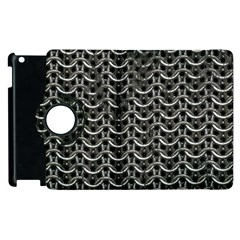 Sparkling Metal Chains 01b Apple Ipad 2 Flip 360 Case by MoreColorsinLife