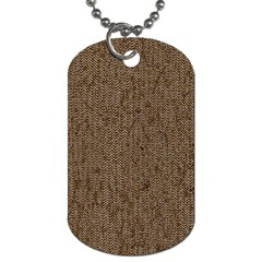 Sparkling Metal Chains 02a Dog Tag (one Side) by MoreColorsinLife