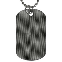 Sparkling Metal Chains 03a Dog Tag (one Side) by MoreColorsinLife