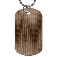 Sparkling Metal Chains 03b Dog Tag (one Side) by MoreColorsinLife