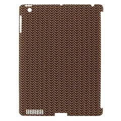 Sparkling Metal Chains 03b Apple Ipad 3/4 Hardshell Case (compatible With Smart Cover) by MoreColorsinLife