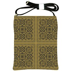 Seamless Pattern Design Texture Shoulder Sling Bags by BangZart