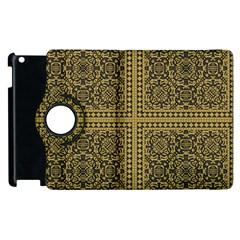 Seamless Pattern Design Texture Apple Ipad 3/4 Flip 360 Case