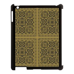 Seamless Pattern Design Texture Apple Ipad 3/4 Case (black)