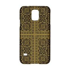 Seamless Pattern Design Texture Samsung Galaxy S5 Hardshell Case