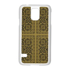 Seamless Pattern Design Texture Samsung Galaxy S5 Case (white)