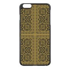 Seamless Pattern Design Texture Apple Iphone 6 Plus/6s Plus Black Enamel Case by BangZart