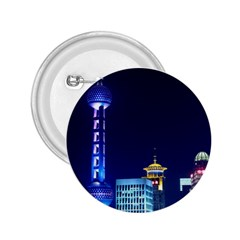 Shanghai Oriental Pearl Tv Tower 2 25  Buttons by BangZart