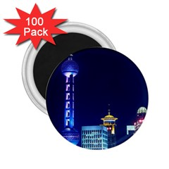 Shanghai Oriental Pearl Tv Tower 2 25  Magnets (100 Pack)