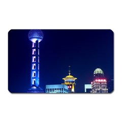 Shanghai Oriental Pearl Tv Tower Magnet (rectangular) by BangZart