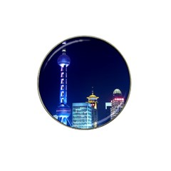 Shanghai Oriental Pearl Tv Tower Hat Clip Ball Marker (10 Pack) by BangZart
