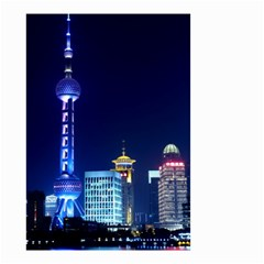 Shanghai Oriental Pearl Tv Tower Small Garden Flag (two Sides) by BangZart