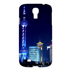 Shanghai Oriental Pearl Tv Tower Samsung Galaxy S4 I9500/i9505 Hardshell Case by BangZart