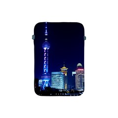 Shanghai Oriental Pearl Tv Tower Apple Ipad Mini Protective Soft Cases by BangZart