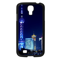 Shanghai Oriental Pearl Tv Tower Samsung Galaxy S4 I9500/ I9505 Case (black)