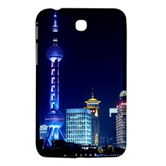 Shanghai Oriental Pearl Tv Tower Samsung Galaxy Tab 3 (7 ) P3200 Hardshell Case  by BangZart
