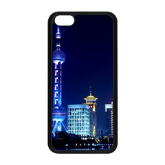 Shanghai Oriental Pearl Tv Tower Apple Iphone 5c Seamless Case (black) by BangZart