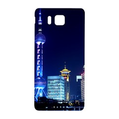 Shanghai Oriental Pearl Tv Tower Samsung Galaxy Alpha Hardshell Back Case by BangZart