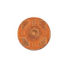 Symbolism Paneling Oriental Ornament Pattern Golf Ball Marker by BangZart