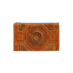 Symbolism Paneling Oriental Ornament Pattern Cosmetic Bag (small)