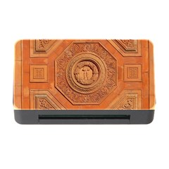 Symbolism Paneling Oriental Ornament Pattern Memory Card Reader With Cf by BangZart