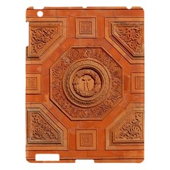 Symbolism Paneling Oriental Ornament Pattern Apple Ipad 3/4 Hardshell Case by BangZart