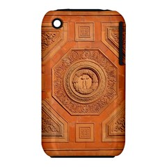 Symbolism Paneling Oriental Ornament Pattern Iphone 3s/3gs by BangZart