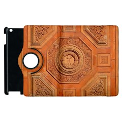 Symbolism Paneling Oriental Ornament Pattern Apple Ipad 3/4 Flip 360 Case by BangZart