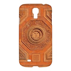 Symbolism Paneling Oriental Ornament Pattern Samsung Galaxy S4 I9500/i9505 Hardshell Case by BangZart