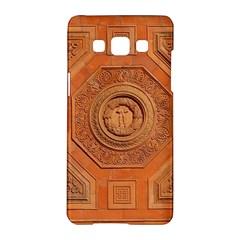 Symbolism Paneling Oriental Ornament Pattern Samsung Galaxy A5 Hardshell Case