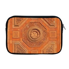 Symbolism Paneling Oriental Ornament Pattern Apple Macbook Pro 17  Zipper Case